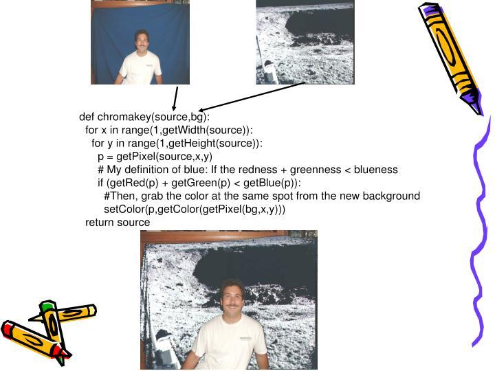 def chromakey(source,bg):
