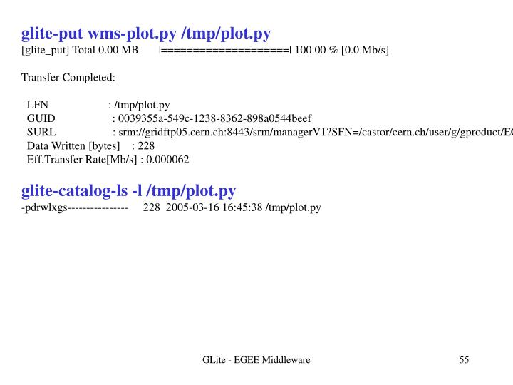 glite-put wms-plot.py /tmp/plot.py
