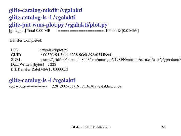 glite-catalog-mkdir /vgalakti