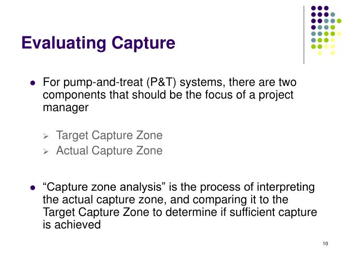 For pump-and-treat (P&T) systems, there are two components that should be the focus of a project manager