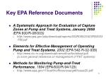 key epa reference documents