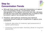 step 5a concentration trends1