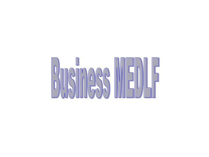 Business MEDLF