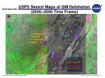 usfs sketch maps of gm defoliation 2000 2006 time frame