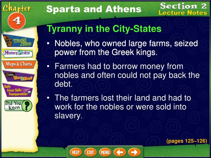 Sparta and Athens