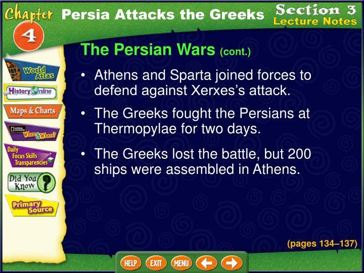 Persia Attacks the Greeks