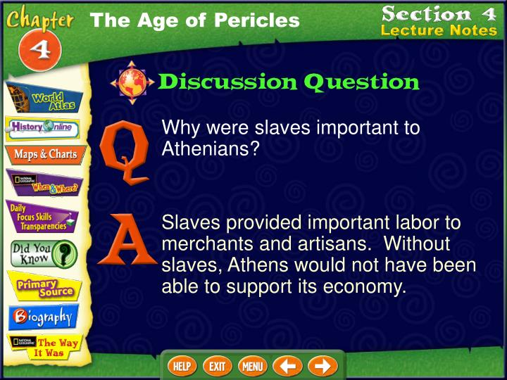 The Age of Pericles