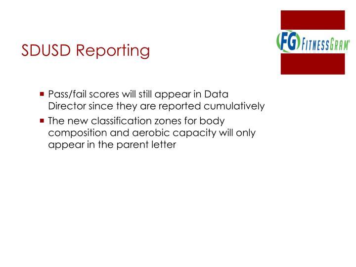 SDUSD Reporting