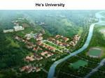 he s university