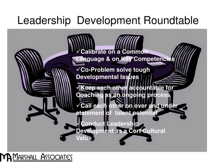 Leadership  Development Roundtable