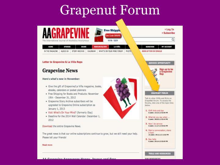Grapenut