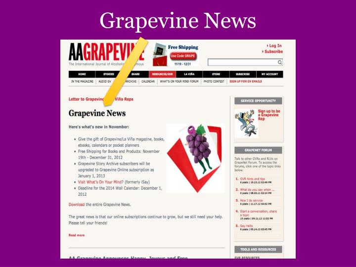 Grapevine News
