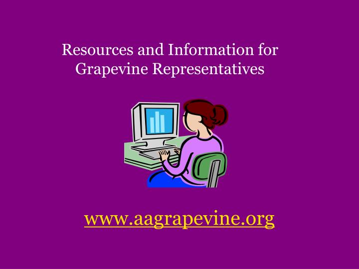 Resources and Information for