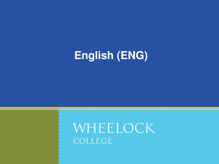 English (ENG)