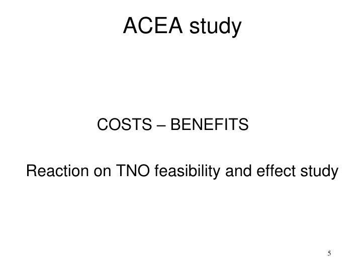 ACEA study