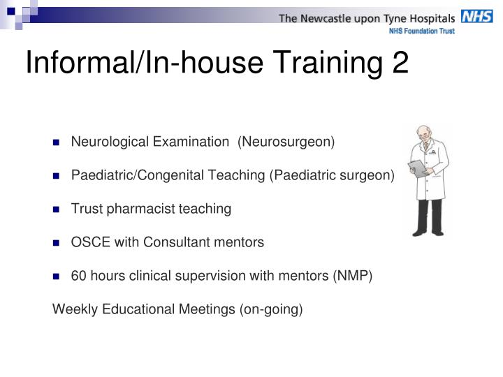 Informal/In-house Training 2