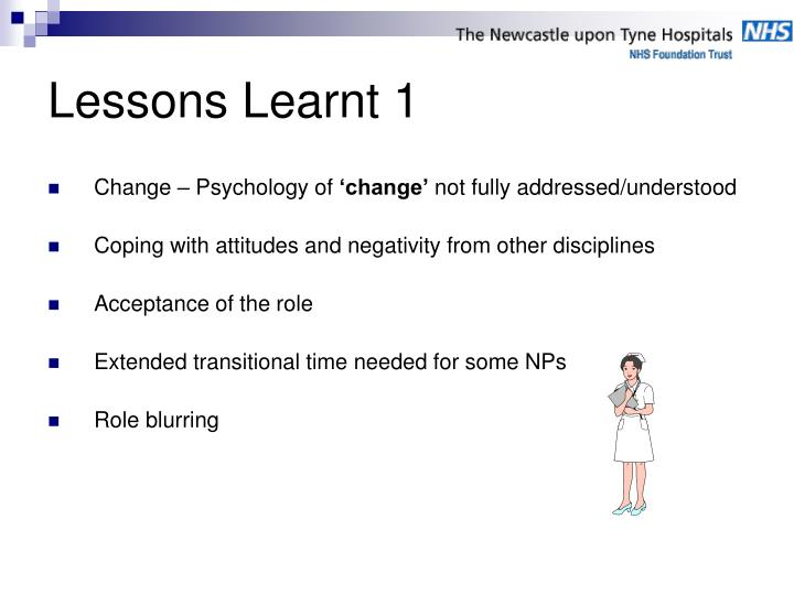 Change – Psychology of