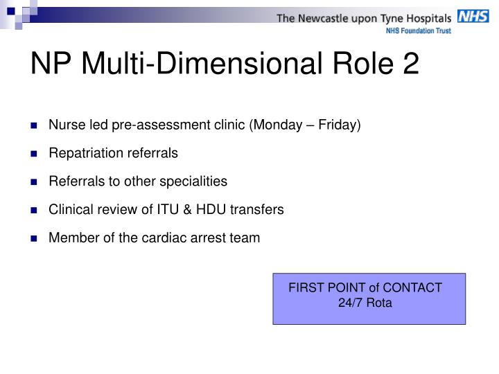 NP Multi-Dimensional Role 2