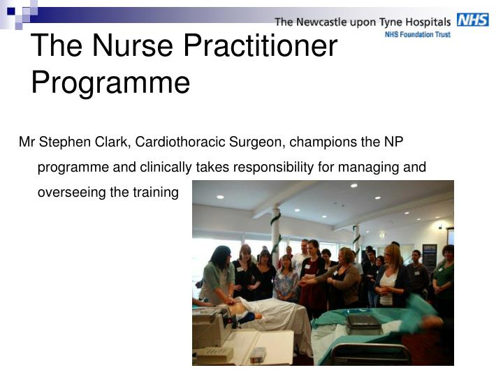 The Nurse Practitioner Programme