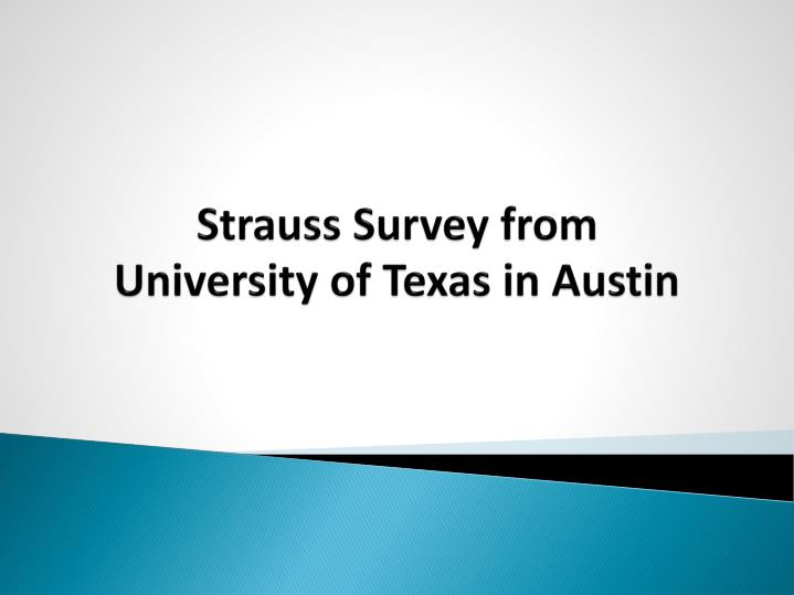 Strauss Survey from