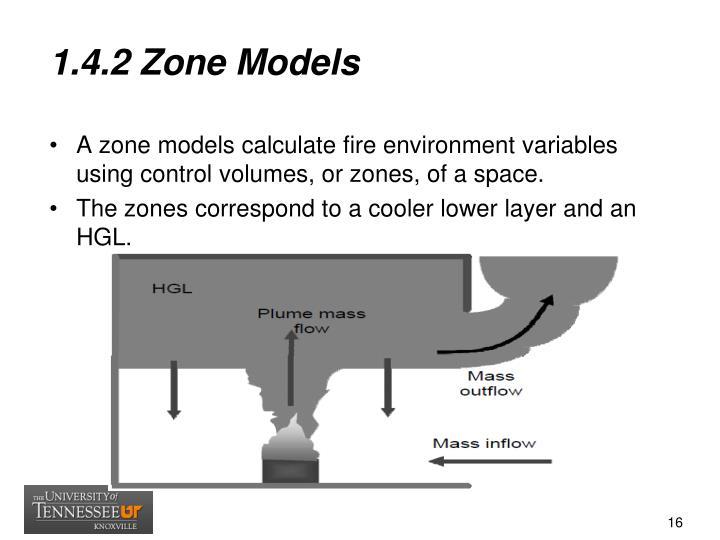 1.4.2 Zone Models