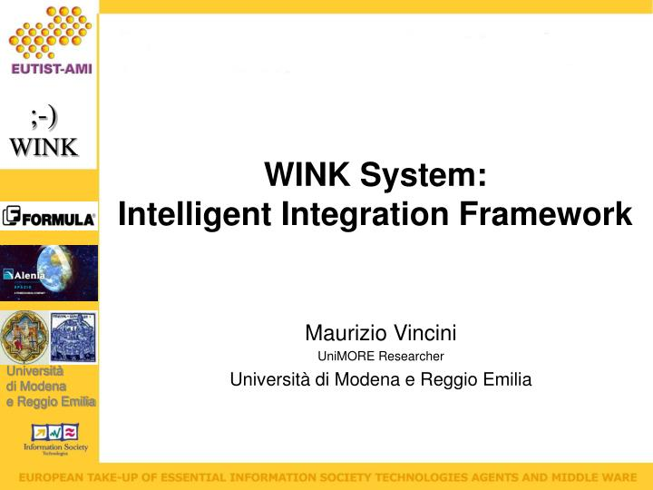 WINK System: