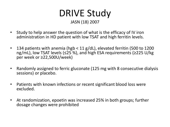 DRIVE Study
