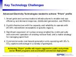 key technology challenges