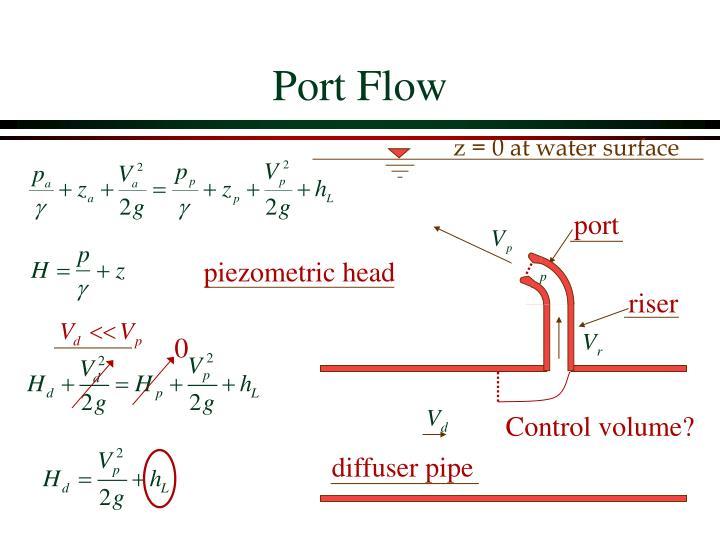 Port Flow