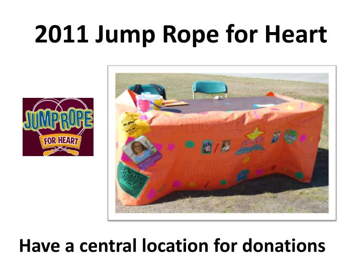2011 Jump Rope for Heart