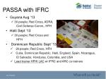 passa with ifrc2