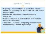 what do i qualify