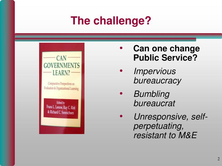 Can one change Public Service?