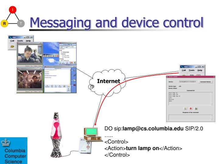Messaging and device control