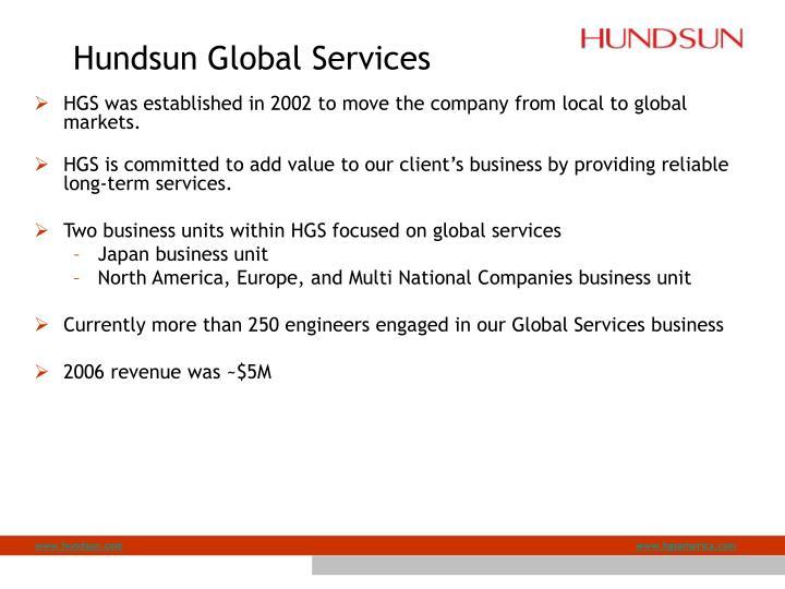 Hundsun Global Services