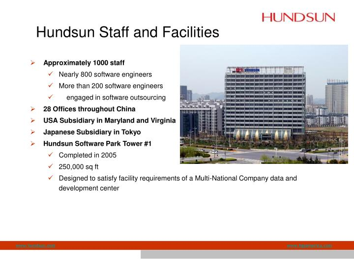 Hundsun Staff and Facilities