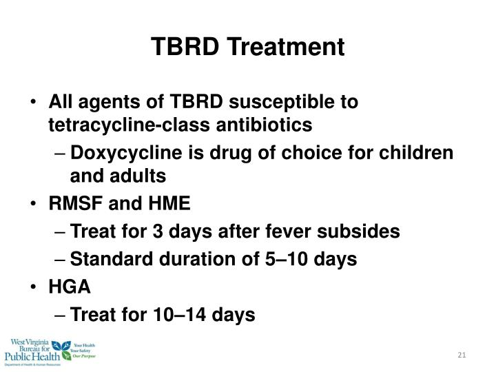 TBRD Treatment
