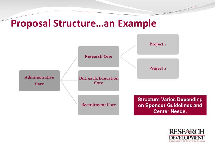Proposal Structure…an Example