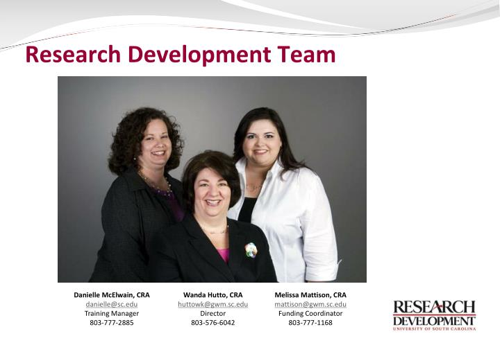 Research Development Team