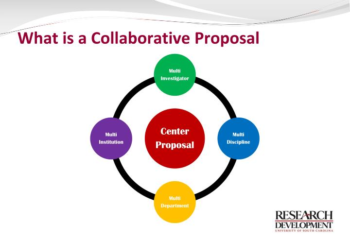 What is a collaborative proposal