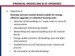 financial modelling ee upgrades