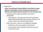 societal platform on ee
