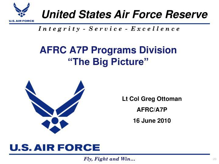 AFRC A7P Programs Division