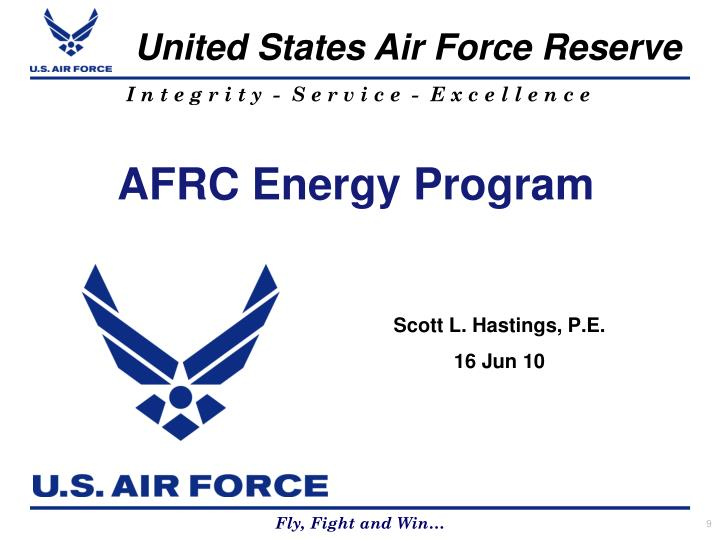 AFRC Energy Program