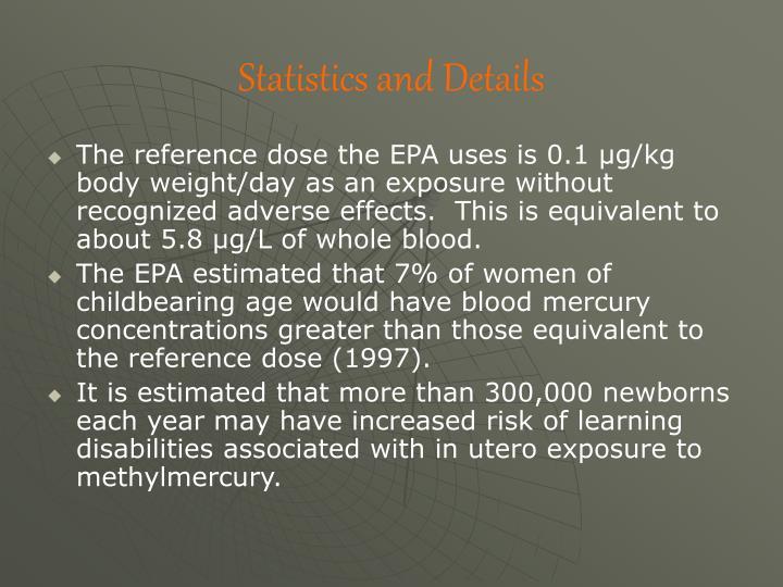 Statistics and Details