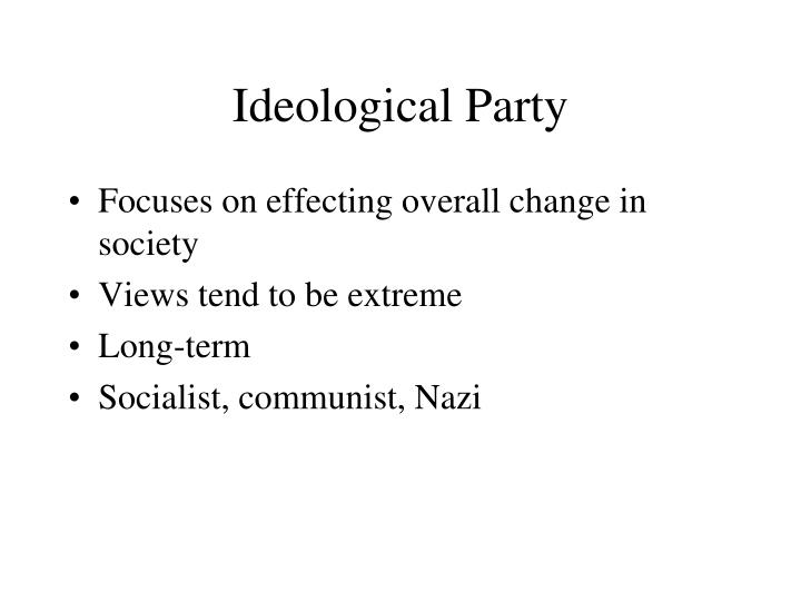 Ideological Party