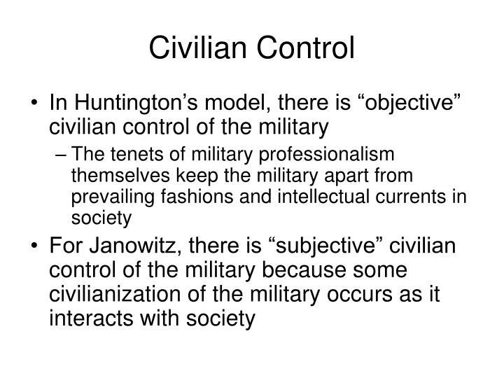 Civilian Control
