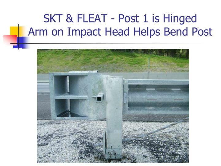 SKT & FLEAT - Post 1 is Hinged