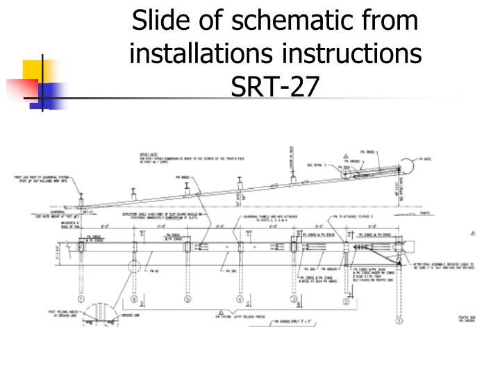 Slide of schematic from installations instructions