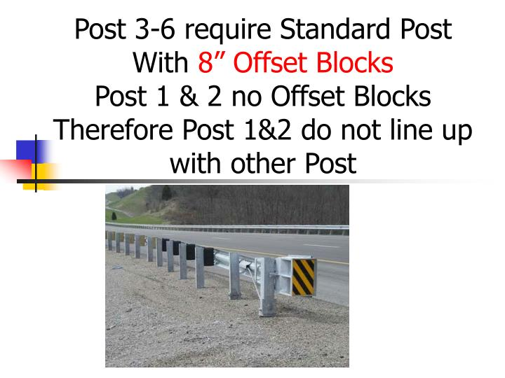 Post 3-6 require Standard Post With